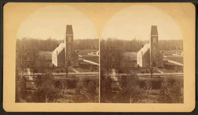 800px-Hope_Indiana_Moravian_church_and_parsonage_Sth_Main_Street_from_Y.L._Seminary_from_Robert_N._Dennis_collection_of_stereoscopic_views